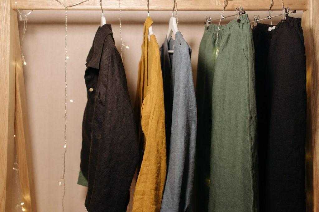 Porte manteau, vêtement, dressing