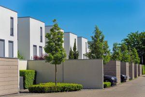 Lotissement, copropriété, logement architecture